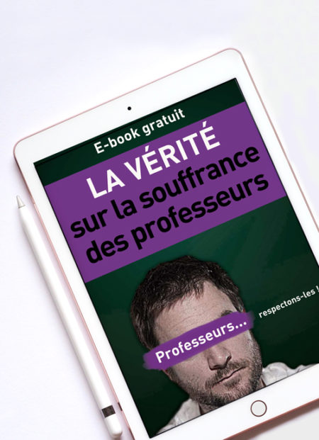 Souffrance des professeurs | Le e-book des témoignages